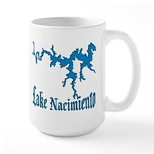 LAKE NACIMIENTO [4 blue] Mug