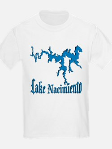 LAKE NACIMIENTO [4 blue] T-Shirt