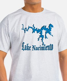 LAKE NACIMIENTO [4 blue] T-Shirt