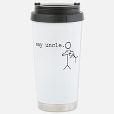 Unique Uncle to be Travel Mug