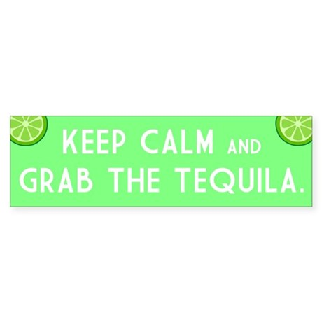 Grab The Tequila Sticker (Bumper)