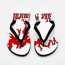 LAKE NACIMIENTO [4 red] Flip Flops
