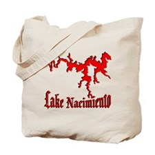 LAKE NACIMIENTO [4 red] Tote Bag