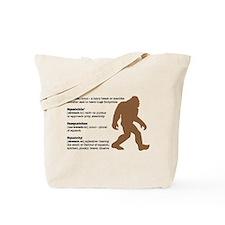 Definition of Bigfoot Tote Bag