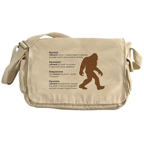 Definition of Bigfoot Messenger Bag