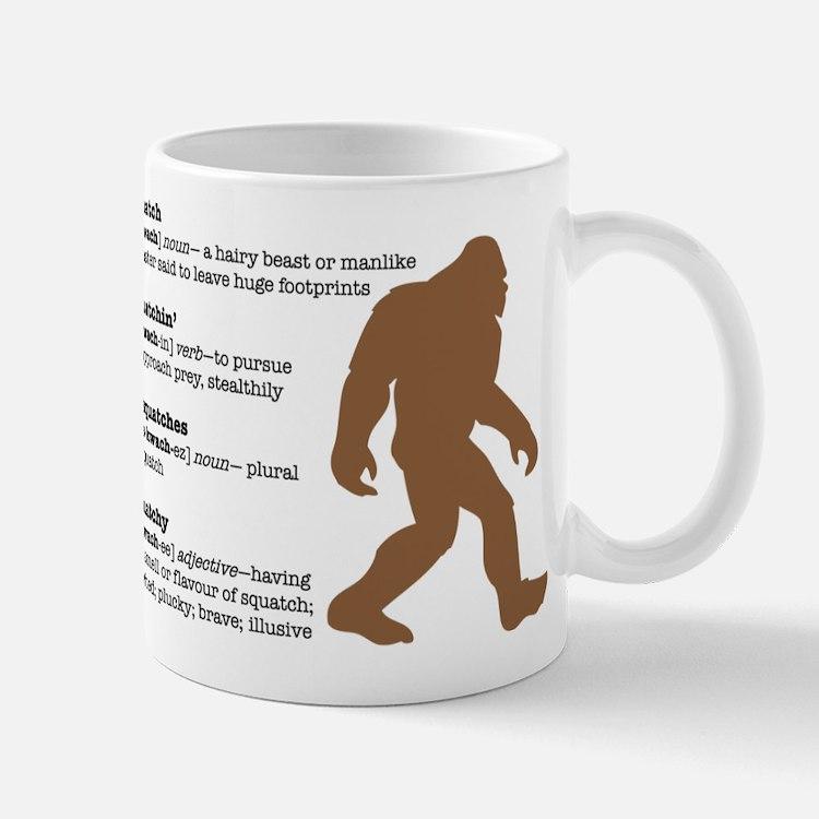 Definition of Bigfoot Mug