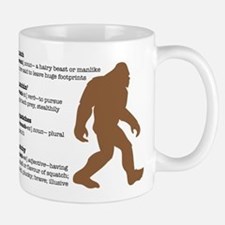 Definition of Bigfoot Small Small Mug