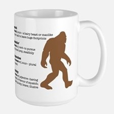 Definition of Bigfoot Ceramic Mugs