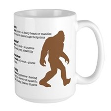 Definition of Bigfoot Mug