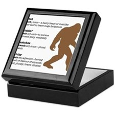 Definition of Bigfoot Keepsake Box