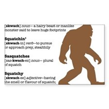 Definition of Bigfoot Decal
