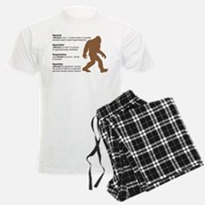 Definition of Bigfoot pajamas