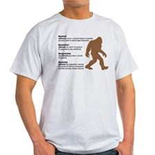 Definition of Bigfoot T-Shirt