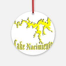 LAKE NACIMIENTO [4 yellow] Ornament (Round)
