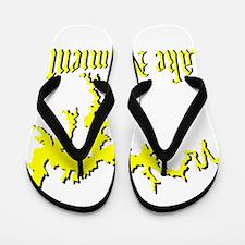 LAKE NACIMIENTO [4 yellow] Flip Flops