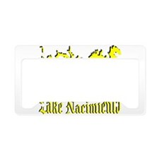 LAKE NACIMIENTO [4 yellow] License Plate Holder