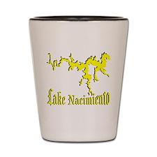 LAKE NACIMIENTO [4 yellow] Shot Glass