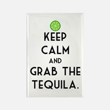 Grab The Tequila Rectangle Magnet