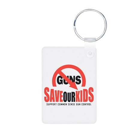 Save Our Kids Aluminum Photo Keychain