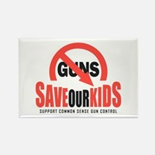 Save Our Kids Rectangle Magnet