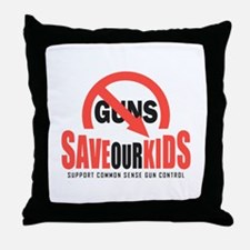 Save Our Kids Throw Pillow
