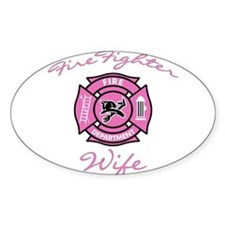 Firefighter Wife Rectangle Decal