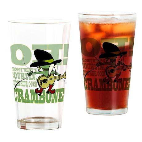 Crambone! Drinking Glass