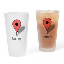 Google Map marker Drinking Glass