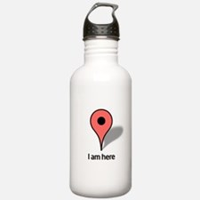 Google Map marker Water Bottle