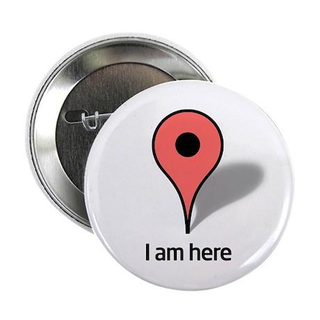 """Google Map marker 2.25"""" Button"""