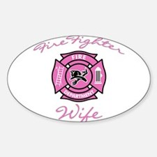 Firefighter Wife Rectangle Stickers