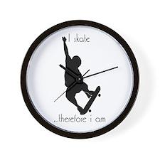 Skating  Wall Clock