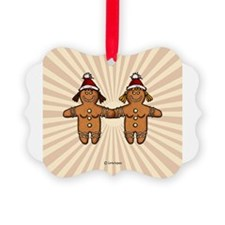 Funny Gay lesbian couples Ornament