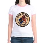 USS HYMAN Jr. Ringer T-Shirt