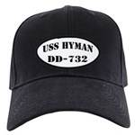 USS HYMAN Black Cap