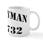USS HYMAN Mug