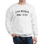 USS HYMAN Sweatshirt