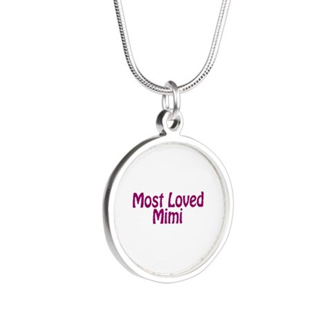 Most Loved Mimi Silver Round Necklace