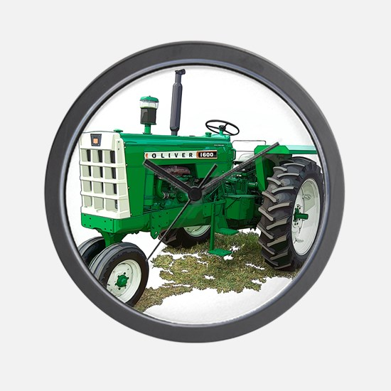 Tractor pulling Wall Clock