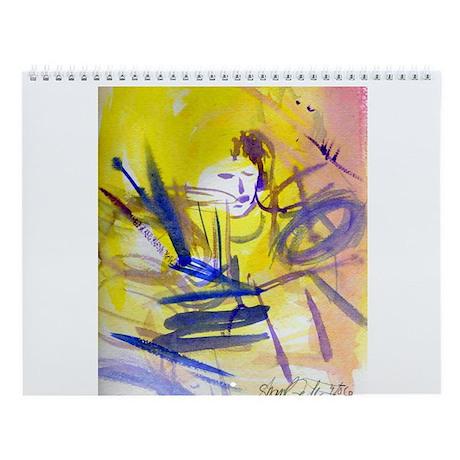 Sharyl Gates Live Jazz Art Wall Calendar