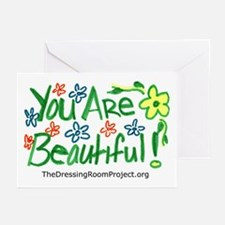 """You Are Beautiful!"" Greeting Cards (Pack of 6)"