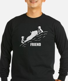 Friend / Best Friend Long Sleeve T-Shirt
