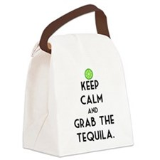 Grab The Tequila Canvas Lunch Bag