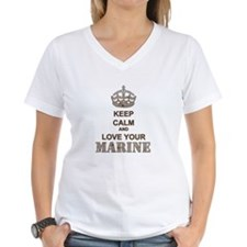 Keep Calm and LOVE Your Marine (desert) Shirt
