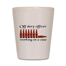 Funny Office humor Shot Glass
