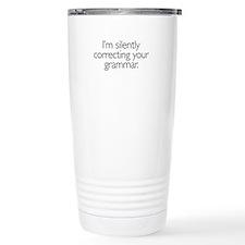 Gift of Grammar Travel Mug