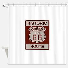 Azusa Route 66 Shower Curtain