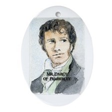 Mr Darcy Of Pemberley Ornament (Oval)