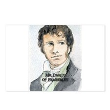 Mr Darcy Of Pemberley Postcards (Package of 8)