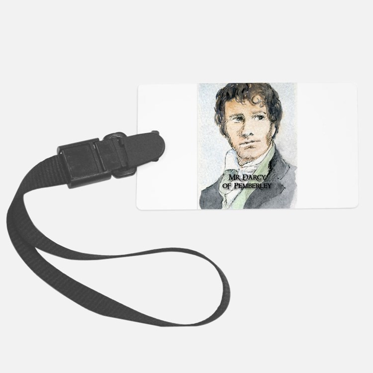 Mr Darcy Of Pemberley Luggage Tag